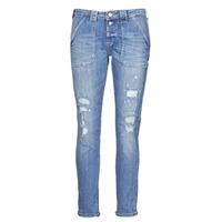 Kleidung Damen Boyfriend Jeans Le Temps des Cerises CARA Blau