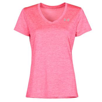 Vêtements Femme T-shirts manches courtes Under Armour TECH SSV