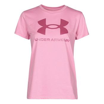 Vêtements Femme T-shirts manches courtes Under Armour LIVE SPORTSTYLE GRAPHIC SSC
