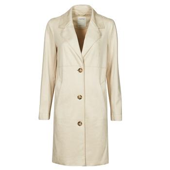 Kleidung Damen Mäntel Esprit SUEDE COAT Beige