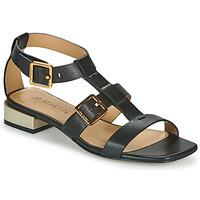Chaussures Femme Sandales et Nu-pieds JB Martin HARIA VTE NOIR DCN/ELASTANO