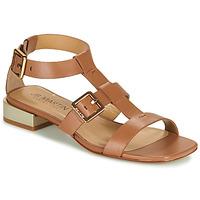 Chaussures Femme Sandales et Nu-pieds JB Martin HARIA VTE CAMEL DCN/ELASTANO