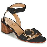 Chaussures Femme Sandales et Nu-pieds JB Martin OLAK MTO NOIR DCN/ELASTANO