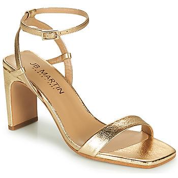 Chaussures Femme Sandales et Nu-pieds JB Martin 1DITA MTO OR DCN/ELASTO