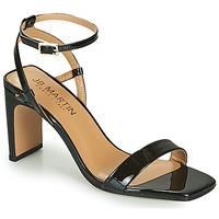Chaussures Femme Sandales et Nu-pieds JB Martin 1DITA VVN NOIR DCV/ELASTO
