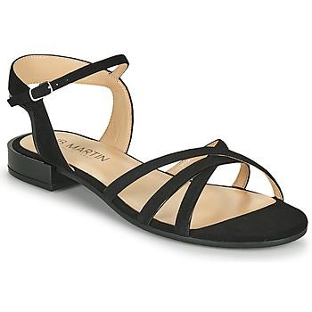 Chaussures Femme Sandales et Nu-pieds JB Martin BAOLI MTO NOIR DCV/GOMME