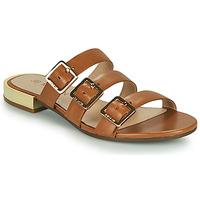 Chaussures Femme Mules JB Martin BEKA VTE CAMEL DCV/GOMME