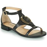 Chaussures Femme Sandales et Nu-pieds JB Martin BOCCIA VTE NOIR DCV/GOMME