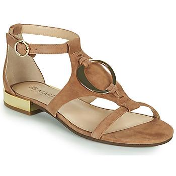 Chaussures Femme Sandales et Nu-pieds JB Martin BOCCIA MTO CAMEL DCV/GOMME