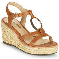 Chaussures Femme Sandales et Nu-pieds JB Martin EMANI VTE CAMEL DCV/GOMME