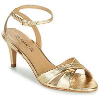 Chaussures Femme Sandales et Nu-pieds JB Martin POETIE MTO OR DCN/ELASTO
