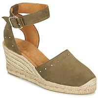 Schuhe Damen Sandalen / Sandaletten Unisa CLIVERS Khaki