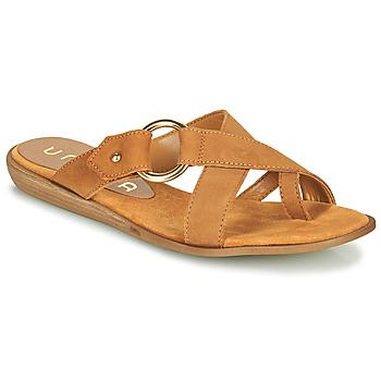 Schuhe Damen Zehensandalen Unisa ADRIEL Kamel