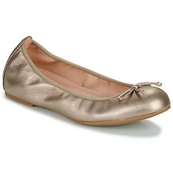 Schuhe Damen Ballerinas Unisa ACOR Golden