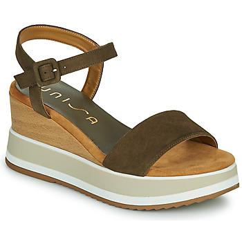 Schuhe Damen Sandalen / Sandaletten Unisa KOLLA Khaki