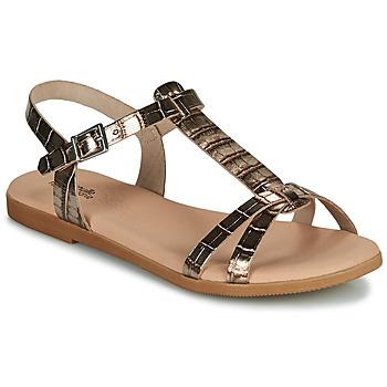 Schuhe Mädchen Sandalen / Sandaletten Citrouille et Compagnie OBIS Braun,