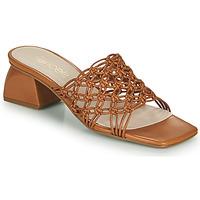 Schuhe Damen Pantoffel Fericelli TELIA Kamel