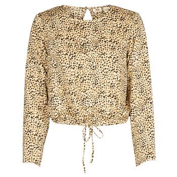 Kleidung Damen Hemden Levi's AMMOLITE SHIFTING SAND Beige