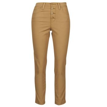 Abbigliamento Donna Pantaloni 5 tasche Levi's SOFT CANVAS TOASTED COCONUT OD