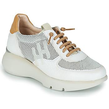 Schuhe Damen Sneaker Low Hispanitas TELMA Weiß / Golden