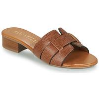 Schuhe Damen Pantoffel Hispanitas LOLA Braun,