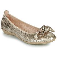 Schuhe Damen Ballerinas Hispanitas CAPRI Golden