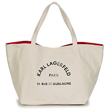 Borse Donna Tote bag / Borsa shopping Karl Lagerfeld RUE ST GUILLAUE CANVAS TOTE