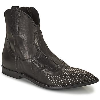 Chaussures Femme Boots Mimmu MONTONE NERO