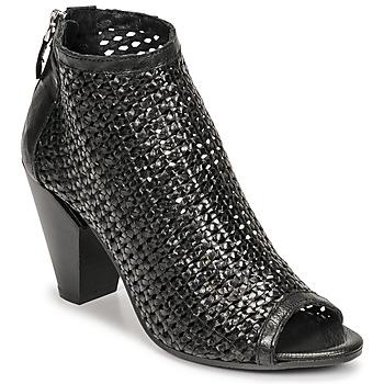 Chaussures Femme Low boots Mimmu INTRECCIO-NERO-PARKER