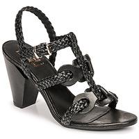 Chaussures Femme Sandales et Nu-pieds Mimmu TRECCIA-P-NERO