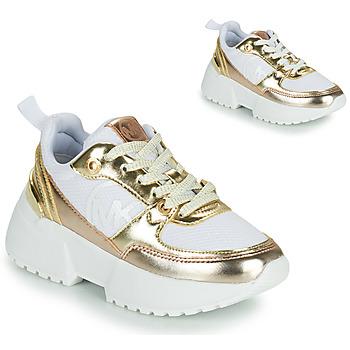 Schuhe Mädchen Sneaker Low MICHAEL Michael Kors COSMO SPORT Weiß / Golden