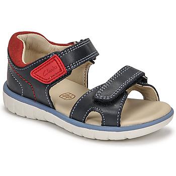 Chaussures Garçon Sandales et Nu-pieds Clarks ROAM SURF K