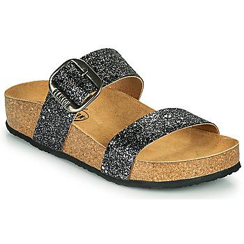 Schuhe Damen Pantoffel Plakton ROCK