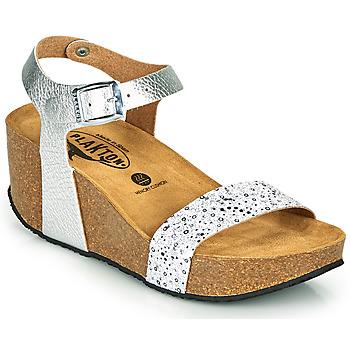 Schuhe Damen Sandalen / Sandaletten Plakton SO KISS Silbrig
