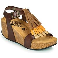 Schuhe Damen Sandalen / Sandaletten Plakton SO TONKA Braun,