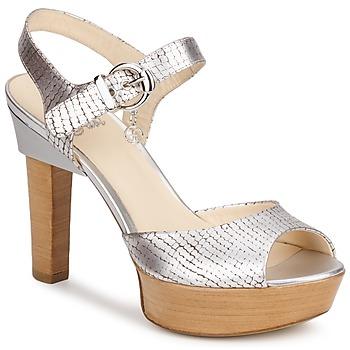 Schuhe Damen Sandalen / Sandaletten Fabi KAITE Silber