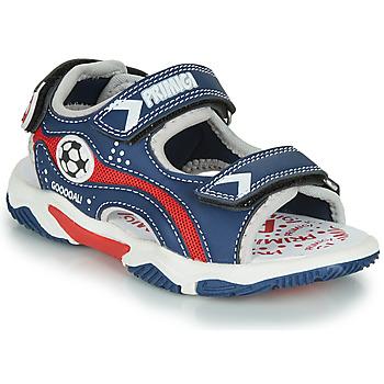 Schuhe Jungen Sandalen / Sandaletten Primigi MATHIS Marineblau / Rot