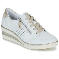 Schuhe Damen Sneaker Low Remonte Dorndorf DORA Weiß / Golden