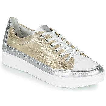 Schuhe Damen Sneaker Low Remonte Dorndorf PHILLA Golden / Silbrig