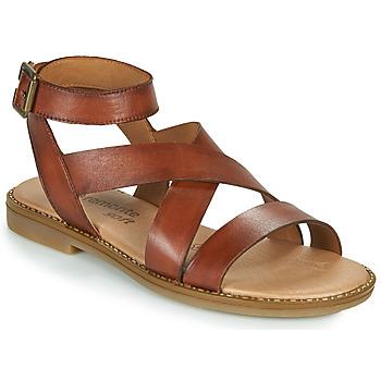 Schuhe Damen Sandalen / Sandaletten Remonte Dorndorf POLLY Braun,