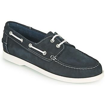 Schuhe Herren Bootsschuhe Casual Attitude REVORO Marineblau