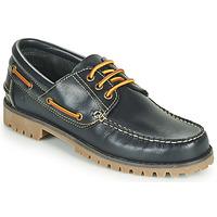 Schuhe Herren Bootsschuhe Casual Attitude EVEROA Marineblau