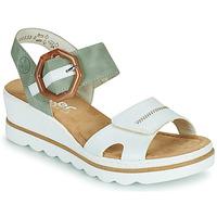 Schuhe Damen Sandalen / Sandaletten Rieker SOLLA Weiß