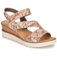Schuhe Damen Sandalen / Sandaletten Rieker CASSIE Bunt