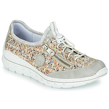 Schuhe Damen Sneaker Low Rieker GRISSA Grau / Bunt