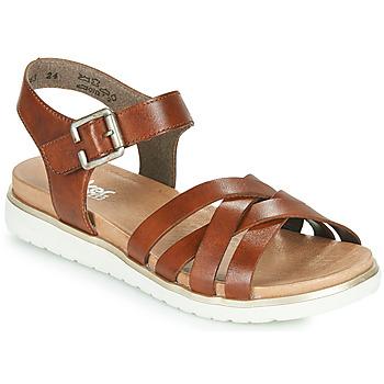 Schuhe Damen Sandalen / Sandaletten Rieker NORRA Braun,