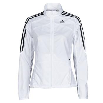 Kleidung Damen Trainingsjacken adidas Performance MARATHON JKT W Weiß