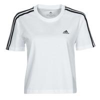 Vêtements Femme T-shirts manches courtes adidas Performance W 3S CRO T