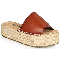 Schuhe Damen Pantoffel Refresh ETINNA Kamel