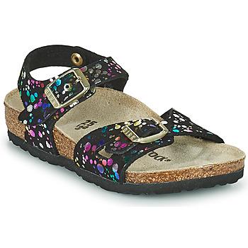 Schuhe Mädchen Sandalen / Sandaletten Birkenstock RIO Bunt